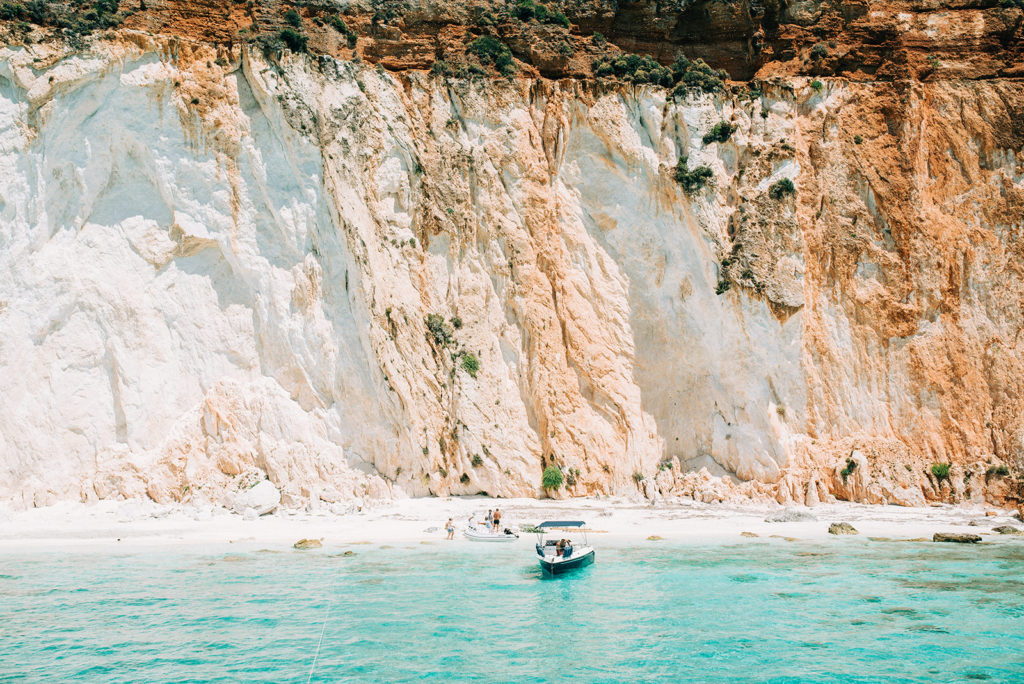 White rocks Kefalonia